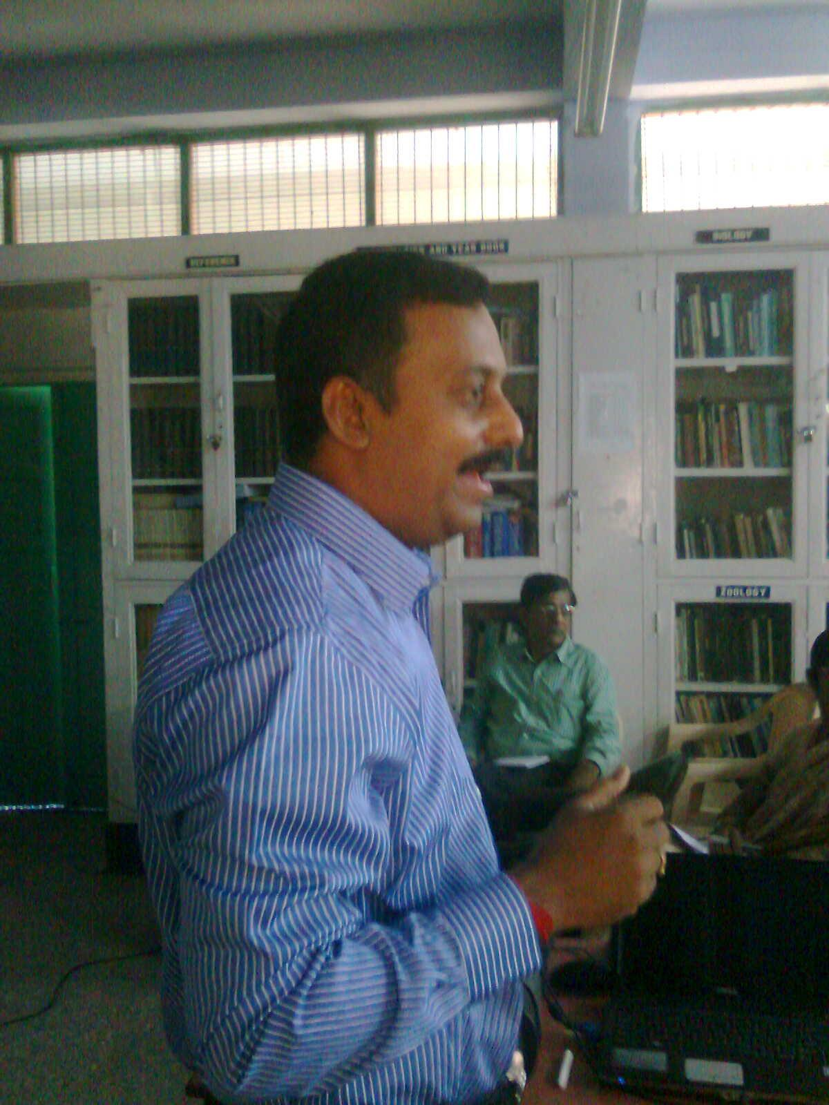 Orientation  Programme by Prof. Vipenendran,  from Anna University